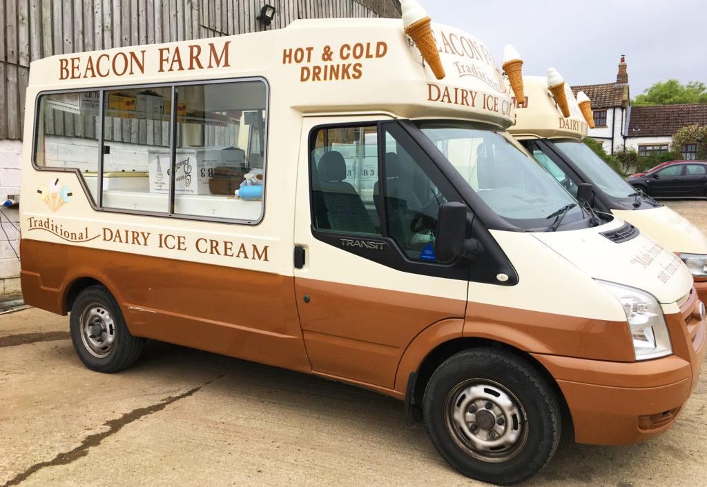 Beacon Farm Ice Cream Van Hire