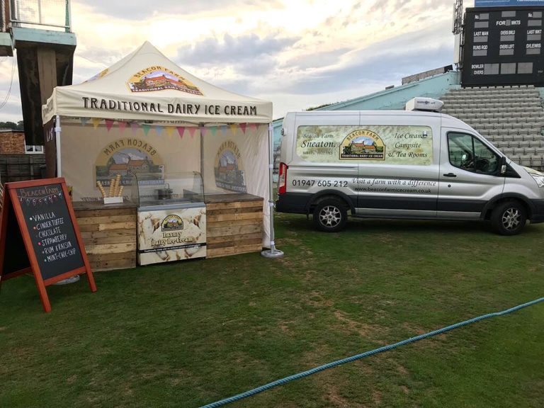 Beacon Farm Ice Cream Van